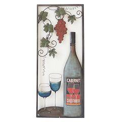 ''Wine With 2 Glasses II'' Wall Art