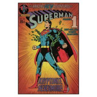 DC Comics Superman Kryptonite Peel & Stick Comic Cover Wall Decal