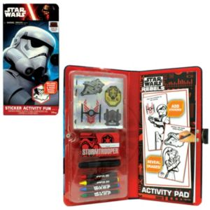 Star Wars: Episode VII The Force Awakens Stormtrooper Sticker Activity Fun Pad
