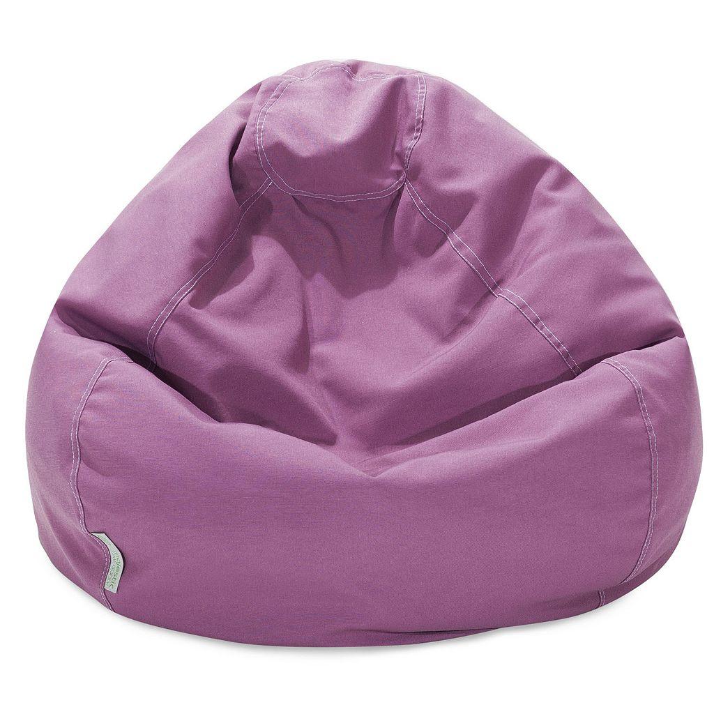 Majestic Home Goods Classic Small Indoor Outdoor Bean Bag