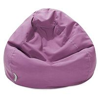 Majestic Home Goods Classic Small Indoor Outdoor Bean Bag