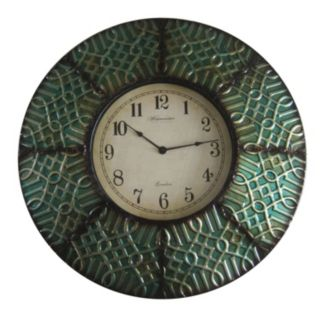 Geometric Paneled Wall Clock