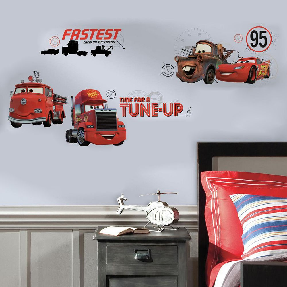 Disney / Pixar Cars Friends to the Finish Peel & Stick Wall Decals