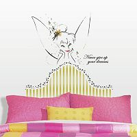 Disney Fairies Tinkerbell Headboard Peel & Stick Giant Wall Decal
