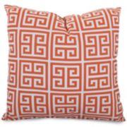 Majestic Home Goods Geometric Indoor Outdoor Throw Pillow