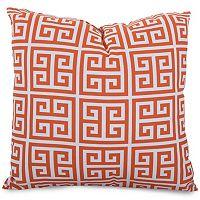 Majestic Home Goods Geometric Indoor Outdoor Throw Pillow