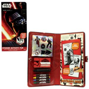 Star Wars: Episode VII The Force Awakens Kylo Ren Sticker Activity Fun Pad