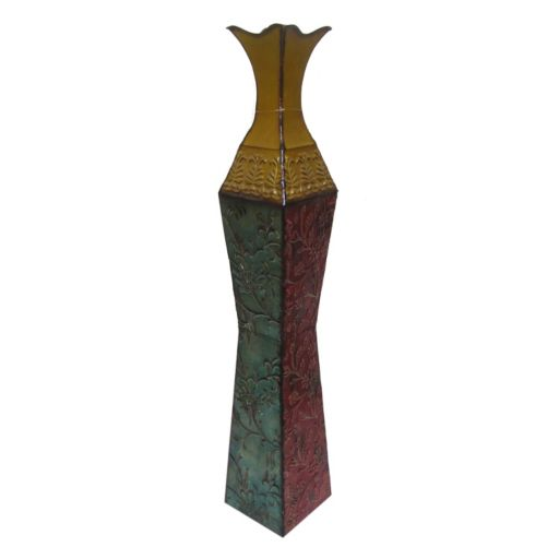 Metal Trumpet Table Vase