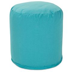 Majestic Home Goods Indoor Outdoor Small Pouf Ottoman