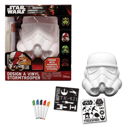 Star Wars Episode Vii The Force Awakens Design A Vinyl Stormtrooper Kit