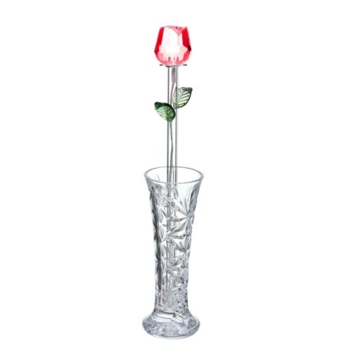 Pfaltzgraff LED Glass Rose