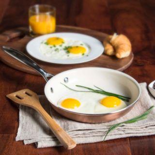 Food Network? 10-pc. Nonstick Ceramic Copper Cookware Set