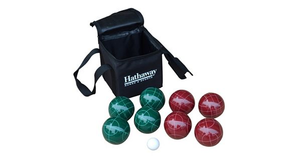 hathaway bocce ball set. Black Bedroom Furniture Sets. Home Design Ideas