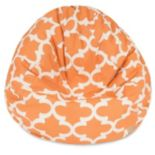 Majestic Home Goods Trellis Small Beanbag Chair