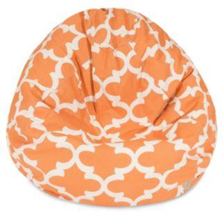 Majestic Home Goods Trellis Small Beanbag Chair
