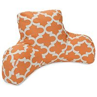 Majestic Home Goods Trellis Indoor Outdoor Backrest Pillow