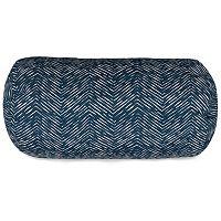 Majestic Home Goods Herringbone Indoor Outdoor Bolster Pillow