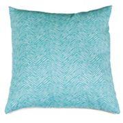 Majestic Home Goods Herringbone Indoor Outdoor Throw Pillow