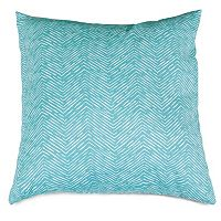 Majestic Home Goods Herringbone Indoor Outdoor Throw Pillow
