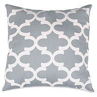Majestic Home Goods Trellis Indoor Outdoor Throw Pillow