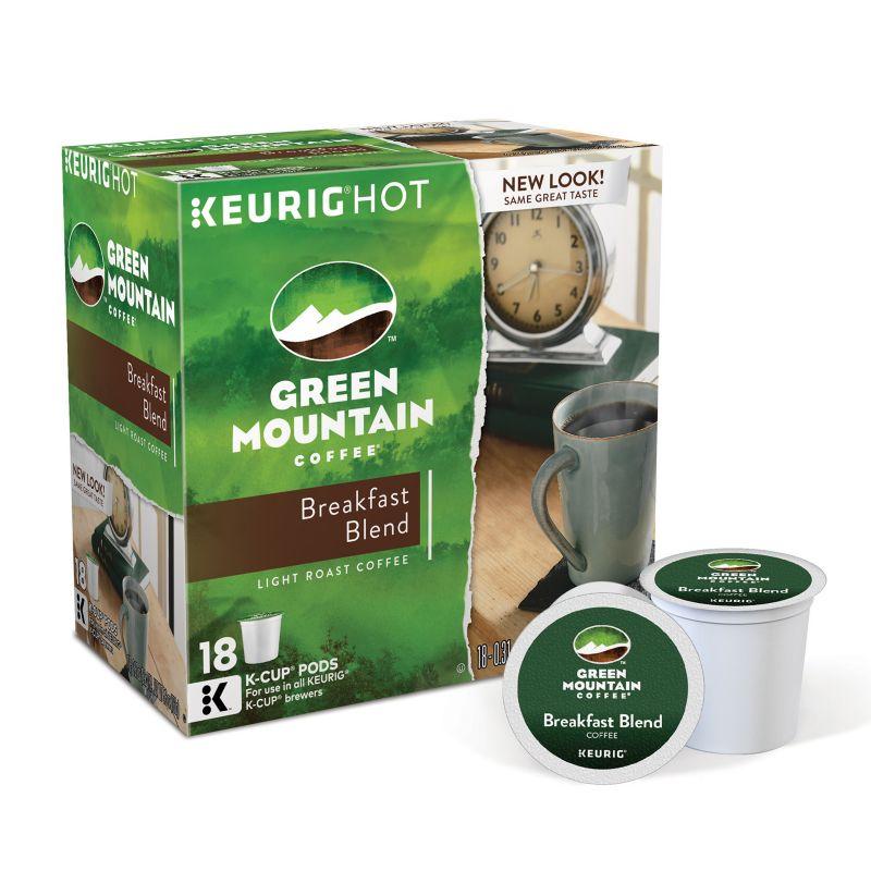Keurig Green Mountain Coffee Nantucket Blend K-Cups, 108 Ct. Casepack