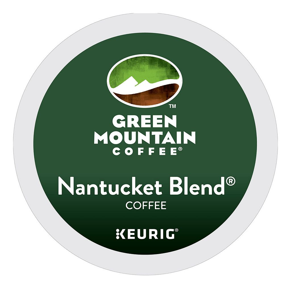 Keurig K-Cup Pod Green Mountain Coffee Nantucket Blend Medium Roast Coffee - 108-pk.