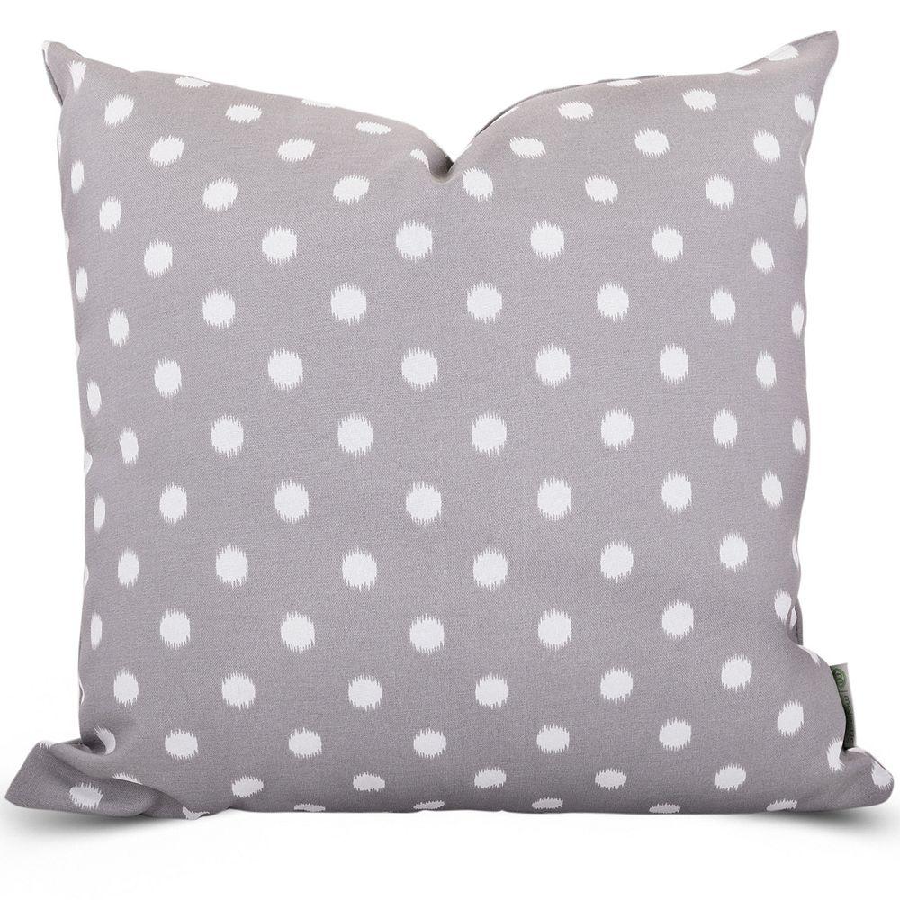 Majestic Home Goods Dot Indoor Outdoor Throw Pillow
