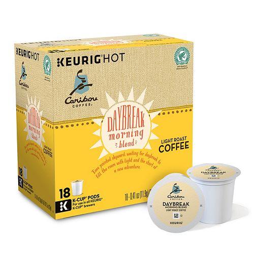 Keurig® K-Cup® Pod Caribou Coffee Daybreak Morning Blend Light Roast Coffee - 108-pk.