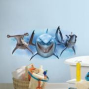 Disney / Pixar Finding Nemo Sharks Peel & Stick Giant Wall Decals