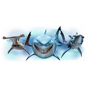 Disney / Pixar Finding Nemo Sharks Peel & Stick Giant Wall Decals