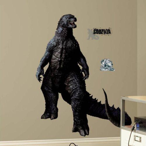 Godzilla Peel & Stick Giant Wall Decals