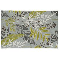 Kaleen Home & Porch Jungle Leaf Indoor Outdoor Rug