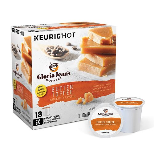 Keurig® K-Cup® Pod Gloria Jean's Butter Toffee Coffee - 108-pk.