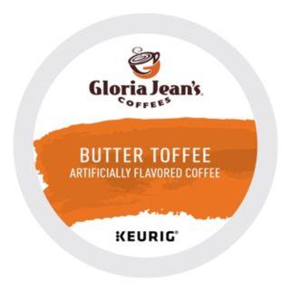 Keurig K-Cup Pod Gloria Jean's Butter Toffee Coffee - 108-pk.