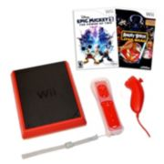 Nintendo Wii Mini Bundle with Epic Mickey 2: The Power of 2 & Angry Birds Star Wars