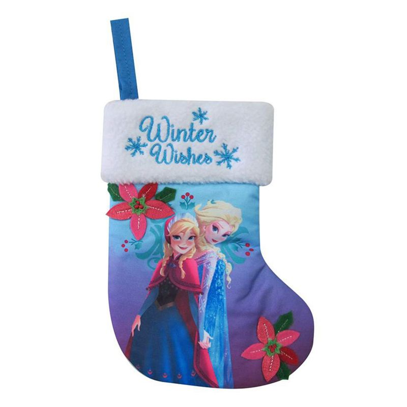 St. Nicholas Square 8-in. Disney's Frozen Elsa & Anna Mini Stocking, Multi/None