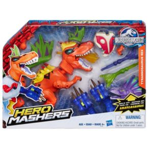 Jurassic World Hero Mashers Tyrannosaurus Rex Figure Set by Hasbro
