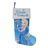 St. Nicholas Square 21-in. Disney's Frozen Elsa LED Light Stocking