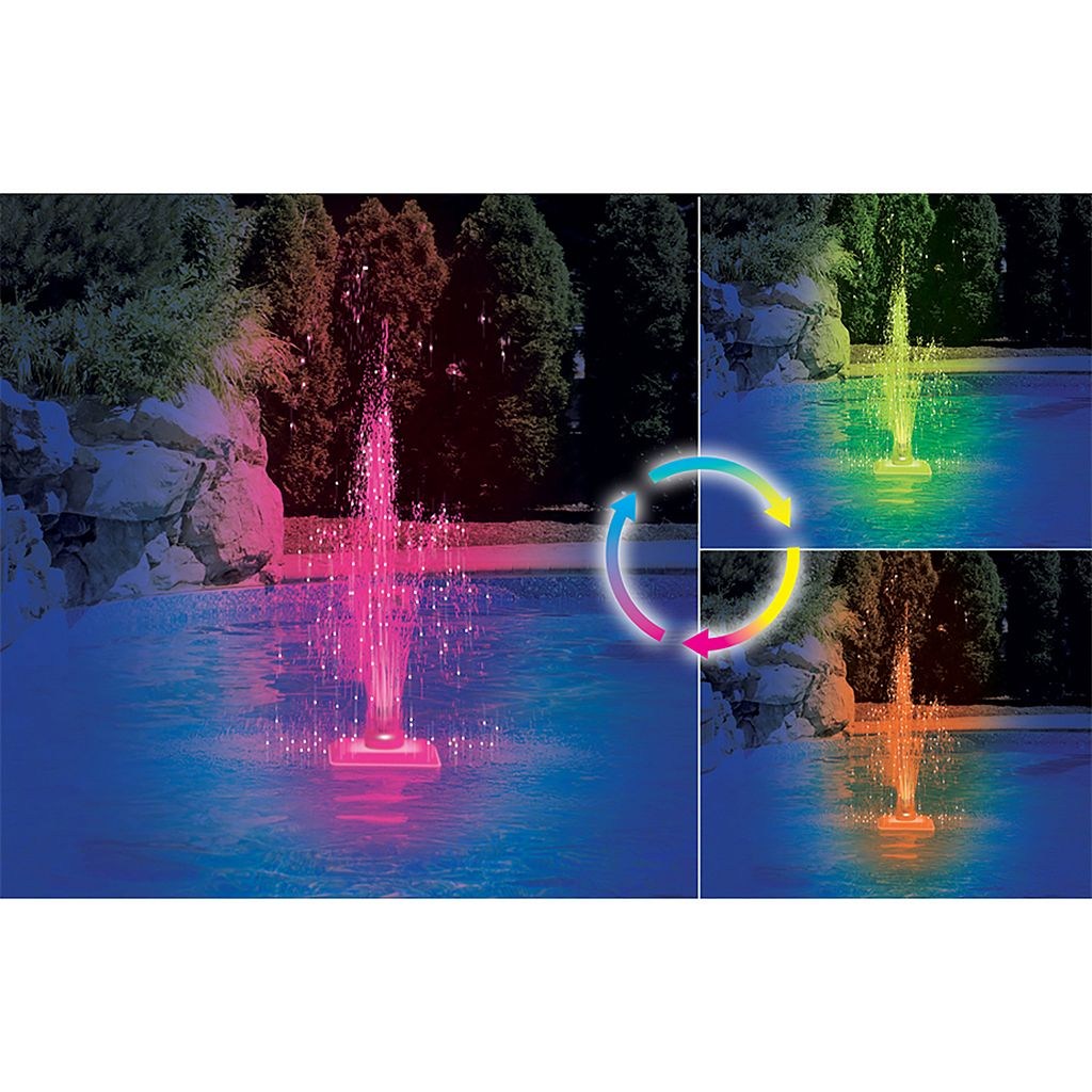 Swimline Kaleidoscope Color-Changing LED Fountain