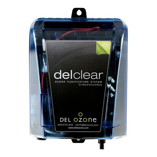 Del Ozone DelClear Above Ground Pool Ozone Purification System