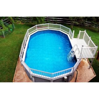 Blue Wave Prime Entry Above-Ground Pool In-Pool Step