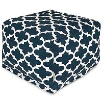 Majestic Home Goods Trellis Indoor Outdoor Large Ottoman