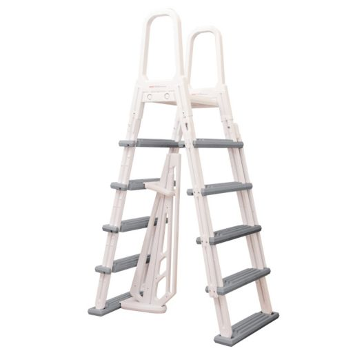 Blue Wave Heavy Duty A-Frame Ladder for Above-Ground Pools