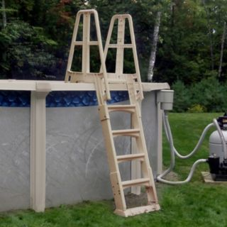 Vinyl Works A-Frame Above Ground Pool Ladder