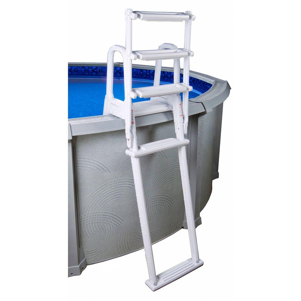 Blue Wave A-Frame Flip-Up Ladder for Above-Ground Pools