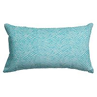 Majestic Home Goods Herringbone Indoor Outdoor Small Throw Pillow