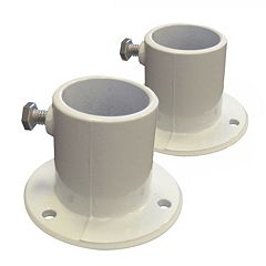 Blue Wave 2 pkAluminum Above-Ground Pool Ladder Deck Flanges