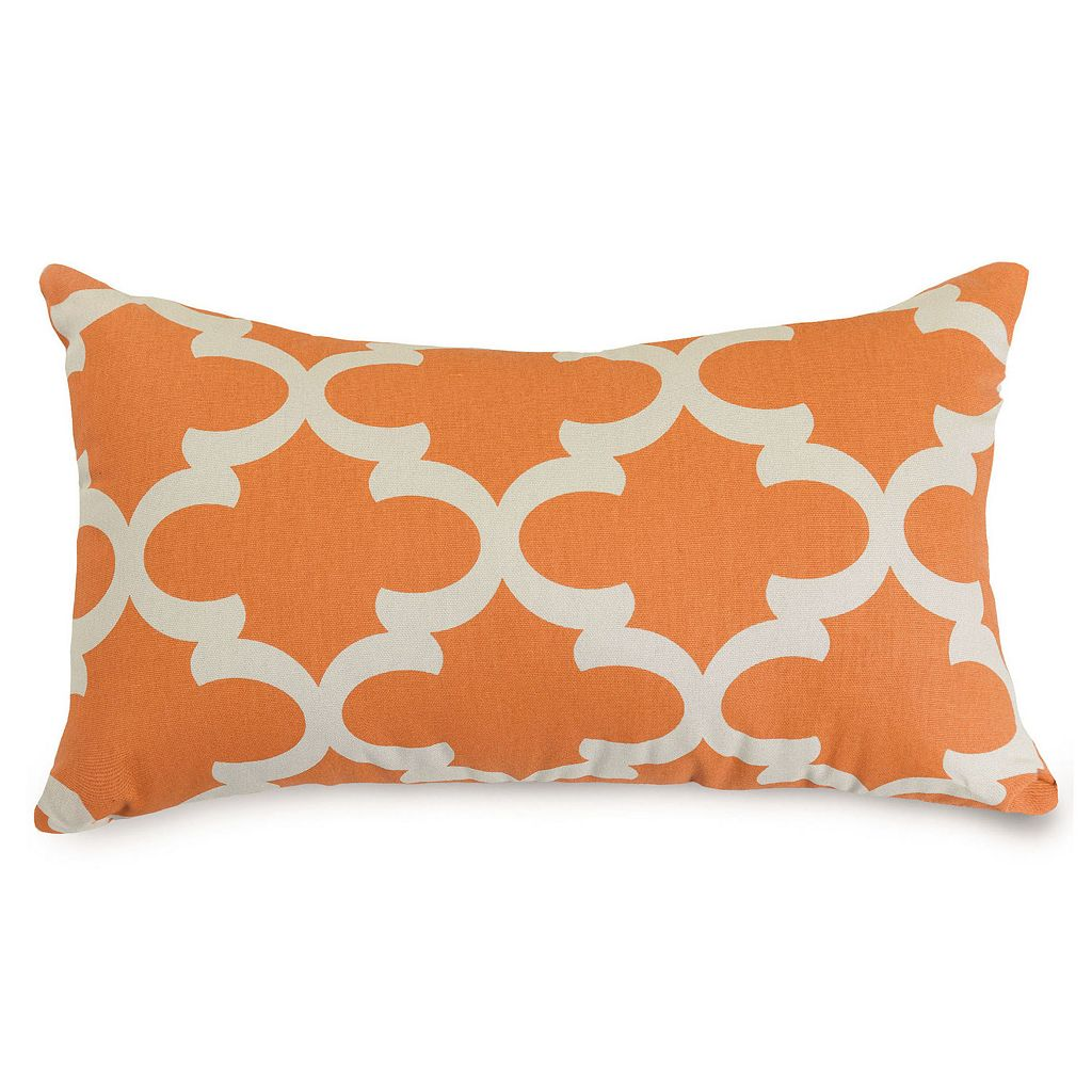 Majestic Home Goods Trellis Indoor Outdoor Small Throw Pillow