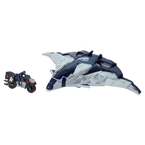 Marvel Avengers: Age of Ultron Cycle Blast Quinjet & Motorcycle by Hasbro