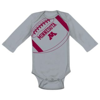 Baby Minnesota Golden Gophers Fanatic Bodysuit